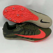 Nike Size 10.5 Zoom Rival Track & Field With Spikes 907564-301 Green &  Pink Photo