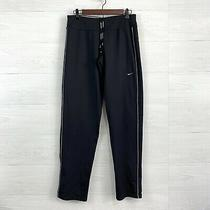 Nike Small Long Tall Black Thermal Fleece Lined Element Ankle Zip Running Pants Photo
