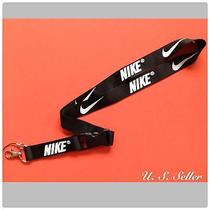 Nike Sport Lanyard Key Chain Necklace Id Badge Cellphone Holder Photo