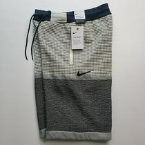 Nike Sportswear Tech Pack Knit Shorts Fossil Ar1587-238 Mens Size Xs  Photo