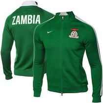 Nike Sz Xl 2014-15 Zambia  Authentic N98 World Cup Soccer Jacket New 605365 302 Photo