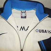 Nike Team Usa Athletic Jacket Coat World Cup 2006 Italy Olympics Mens Large L Photo