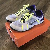 Nike Training Lunar Element Shoes-Sneakers Grey / Purple 615743-100 Women's 5.5 Photo