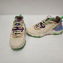 Nike W Nsw React Vision Ci7523-200 Fossil Purple Green Running Shoes Sz 7.5 Photo