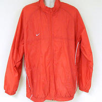 Nike Windbreaker Men's Size 2xl Red Outdoors Rain Wind  Photo
