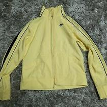Nike Windbreaker Xs Yellow Zip Up Jacket Athletic Wear Sports  Photo