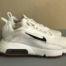 Nike Womens Air Max 2090 Twist Sneakers White / Fossil / Gum Size 8 Us 150 Photo