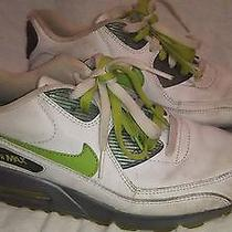 Nike Women's Air Max 90 312052-131 White Bright Cactus Oxide Running Shoes Sz 8m Photo
