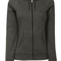 Nike Women's Classic Full Zip Hoodie Sweatshirt-Dark Heather Gray-Medium Photo