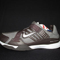 Nike Women's D4c2 Trainer Running Shoes Brown Gray Pink  Velcro Z Strap Us 9 Photo