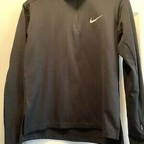 Nike Womens Element 1/2 Zip Running Pullover Black Xs Photo