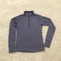 Nike Women's Element 1/2 Zip Running Top. Wool Blend. Size Small Photo