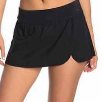 Nike Women's Element Swim Cross Skirted Board Shorts Nwt Black Size Medium Photo