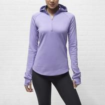 Nike Women's Element Thermal Hoodie  Small  Lavender  Jacket Running Shirt  Photo