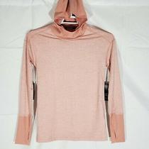 Nike Women's Hoodie Element Running Long Sleeve Pink Size Xs S  Photo