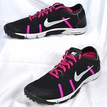 Nike Women's Lunar Element Training Shoes U.s. Size 11 Black/pink Foil Photo