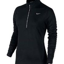 Nike Womens Element Dri-Fit Half-Zip Running Top Size Small Color Black Photo