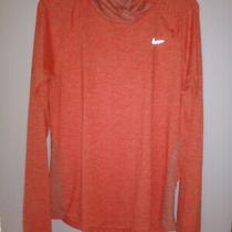 Nike Womens Element Dri-Fit Running Hoodie Orange  685818-843 Size Large  Photo