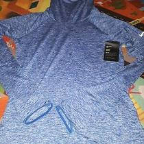 Nike Womens Element Heather Hoodie Royal Heather Size Small  Photo