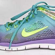 Nike Womens Free 5.0 Tr Fit 4 Cross Training Shoes Jade Size 8.5 M Us Or4 Er89 Photo