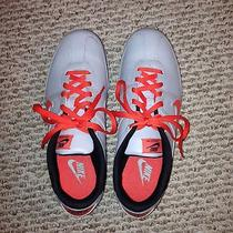 Nike Womens Sneakers - Size 8 - Orange and Grey Photo