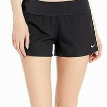 Nike Womens Swimwear Black Size Small S Solid Element Swim Boardshort 50 375 Photo