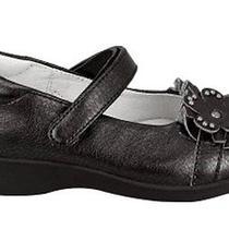 Nina 'Celine' Girls Black Leather Mary Janes Size 6 M (Little Kid) Nib 59 Photo