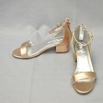 Nina Hidi C205787 Strappy Sandals Big Girl's Size 4m Rose Gold Photo