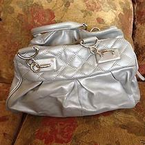 Nina Raye Lamb Skin Silver Handbag Photo