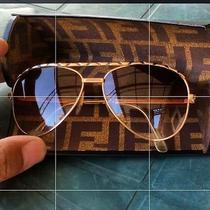 Nina Ricci 22kt Sunglasses With Fendi Case Photo
