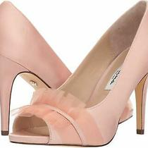 Nina Womens Raizel Peep Toe Classic Pumps Blush Size 6.5 Qufo Photo
