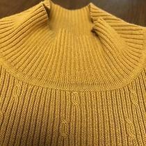Nine & Company Gold Sleevless Sweater Size M Women Vintage Photo