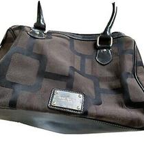 Nine West Black & Brown Medium Purse/handbag Photo