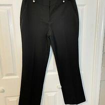 Nine West Black Career Dress Pants Size 8 Nwot Photo