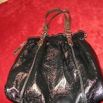 Nine West     Black Patent Leather    Handbag/purse  Preowned  Photo