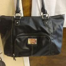 Nine West Black Shoulder Bag Handbag Purse  Photo