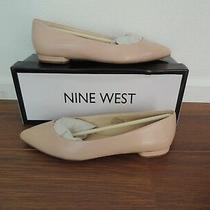 Nine West Blush/pink Leather Flats - Super Cute and Classy 8.5 Brand New Photo
