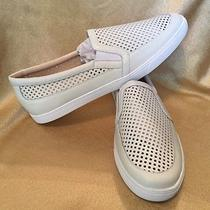 Nine West Brodie Low Top Trainer - White - Mens Size 14 Photo