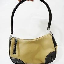 Nine West Classic Brown Khaki Versatile Small Shoulder Tote Bag Purse Photo