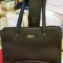 Nine West Computer Laptop Bag - Black  Photo
