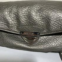 Nine West Crossbody Clutch Convertible Purse Wristlet Gray Photo