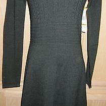 Nine West Full Skirt Cable Knit Sweater Dress - Msrp 98 Photo