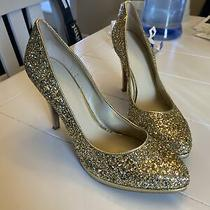 Nine West Gold Sequin/glitter Pumps Photo