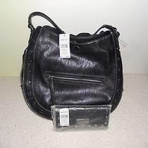 Nine West Handbag and Wallet Nut N Bolts Black Photo