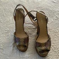 Nine West High Heel Shoes Size 8 - Animal Pattern  Photo