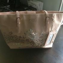 Nine West It Girl Blush Cut Out Leaves Tote Photo