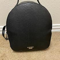 Nine West Khali Edyta Backpack Bag Purse Black Photo