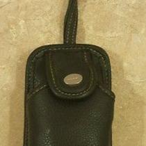 Nine West Leather Cell Phone Wallet Wristlet Photo