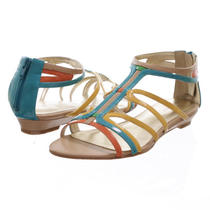 Nine West Makaia Gladiator Sandal Turquoise Size 8 Photo
