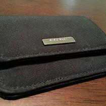 Nine West Microfiber Black Card Holder Photo